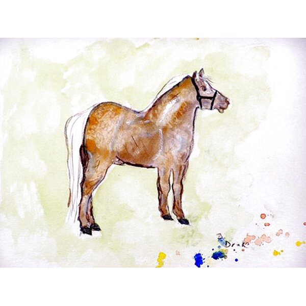 Shetland Pony Placemat (Set of 4) by Betsy Drake Interiors