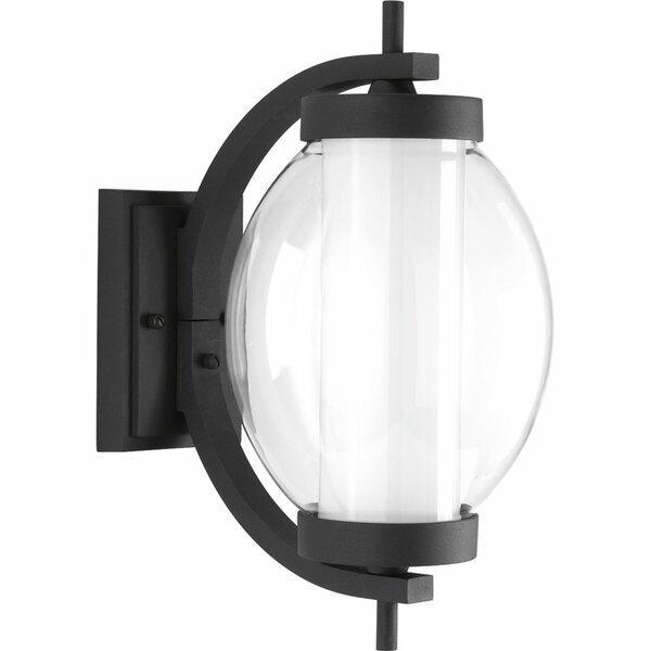 Laxman LED 1-Light Outdoor Wall Lantern by Red Barrel Studio
