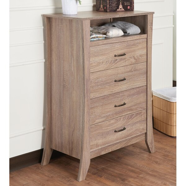 Glenrock 4 Drawers Chest by Highland Dunes
