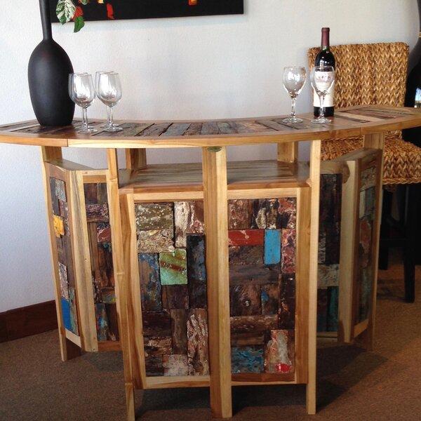 Barnes Teak Home Bar by Loon Peak