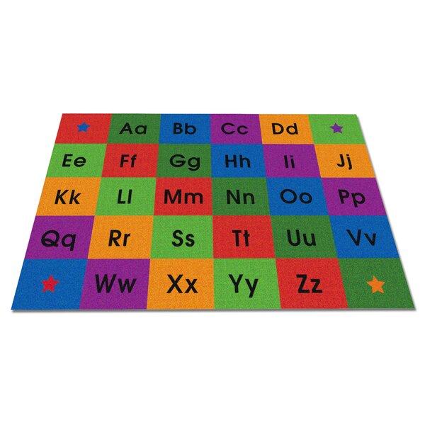Row by Row Alphabet Kids Rug by Kid Carpet