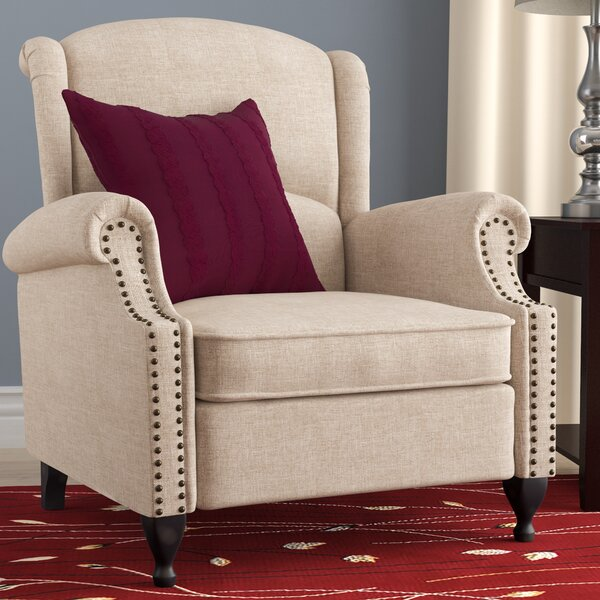 Rockcrest Manual Recliner by Charlton Home