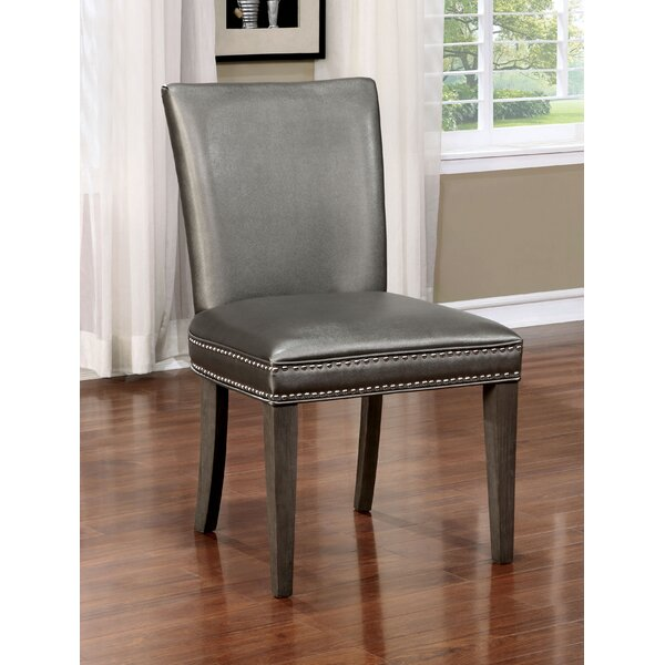 Charleena Upholstered Parsons Chair (Set of 2) by Willa Arlo Interiors