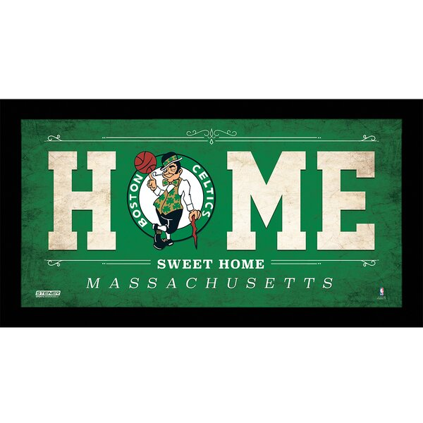 Home Sweet Home Framed Textual Art by Steiner Sports