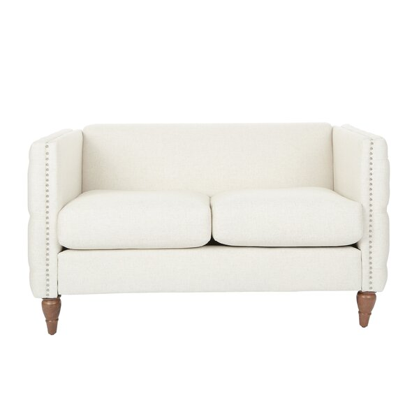 In Vogue Mcminn Loveseat by House of Hampton by House of Hampton