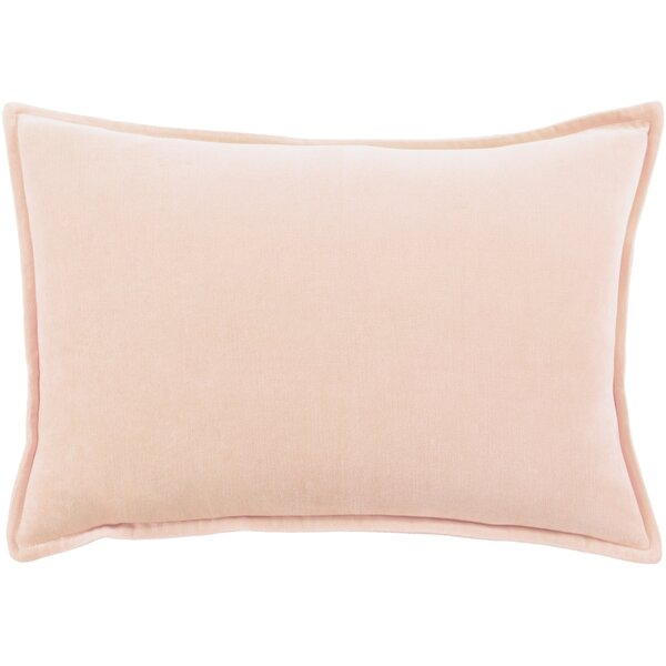 Muriel Solid and Border Throw Pillow by Mercer41