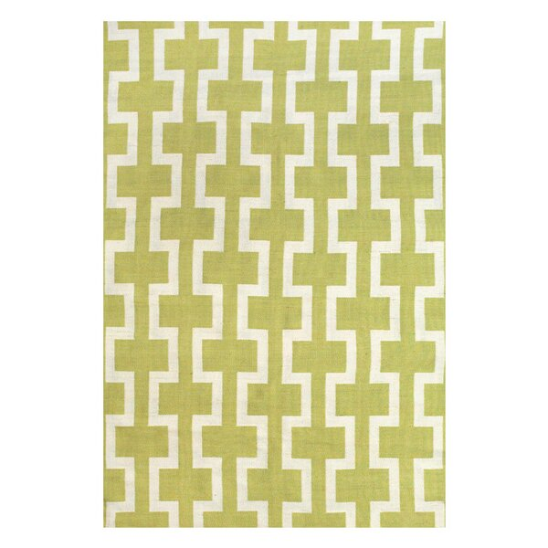 Sargasso Hand Woven Yellow Indoor/Outdoor Area Rug by Feizy Rugs