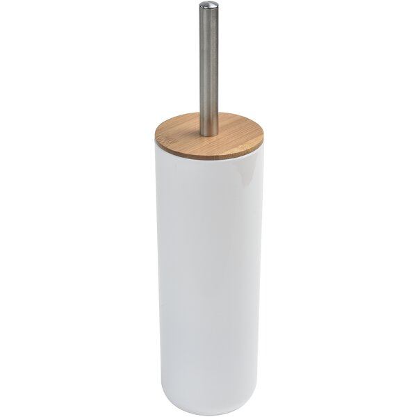 Padang Free Standing Bathroom Toilet Brush and Holder by EvidecoPadang Free Standing Bathroom Toilet Brush and Holder by Evideco
