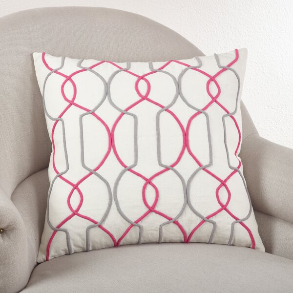 The Paracord Cotton Throw Pillow by Saro