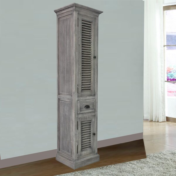 Connolly 19.6 W x 79 H Linen Cabinet