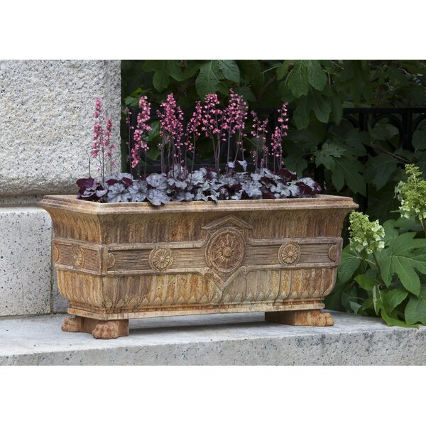 Smithsonian Cast Stone Planter Box by Campania International