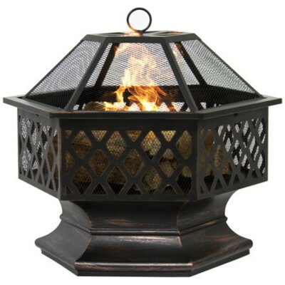 Canora Grey Henry Street Steel Wood Burning Fire Pit