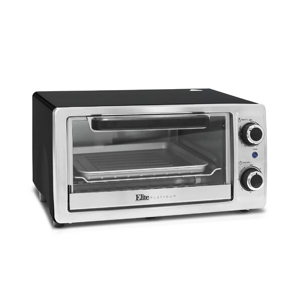 4 Slice Toaster Oven & Broiler by Elite by Maxi-Matic
