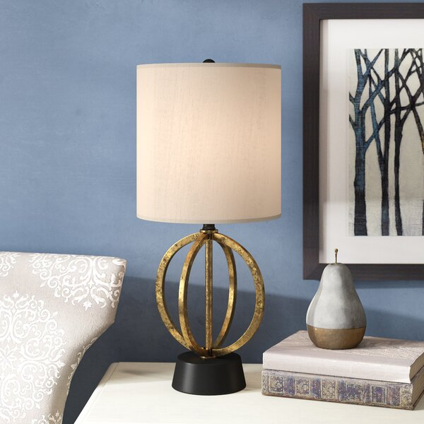 Woodview 19.25 Table Lamp by Charlton Home