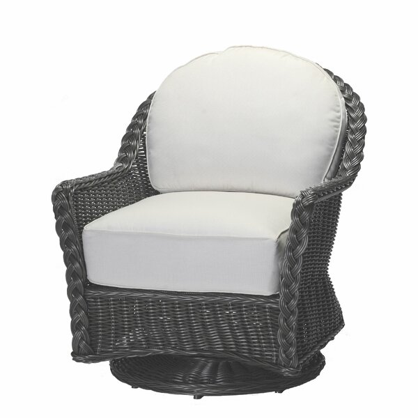 Sedona Swivel Glider Chair with Cushions by Summer Classics
