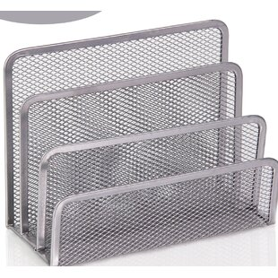 Review Bigham 3 Slot Mesh Letters and Documents Sorter Holder (Set of 2) by Rebrilliant