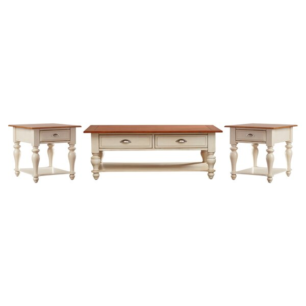 Balhi 3 Piece Coffee Table Set by Alcott Hill Alcott Hill