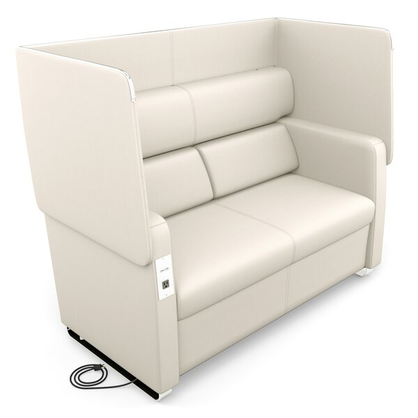 Morph Series Soft Seating Loveseat by OFM