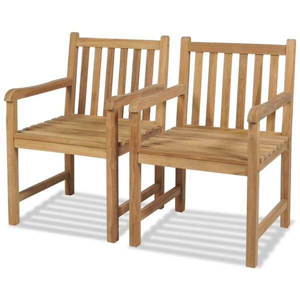 Stambruges Garden Chair (Set of 2) by Millwood Pines