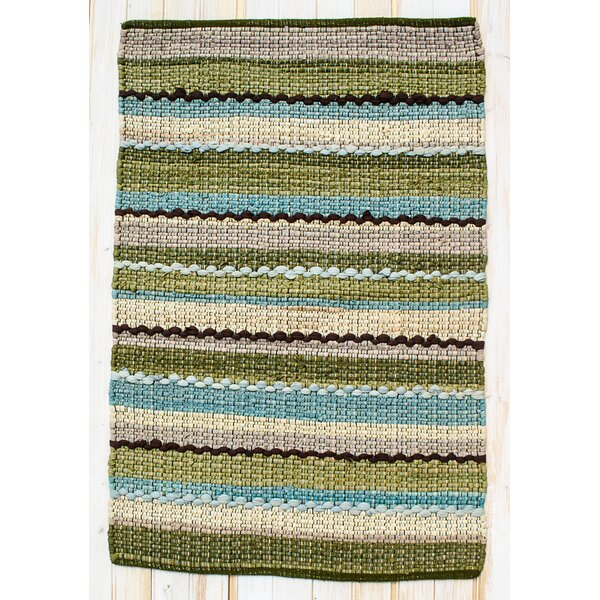 Ric Rac Blue/Green Area Rug by CLM