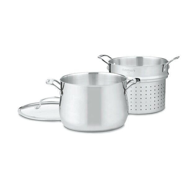 3 Piece 6 Qt. Pasta Pot Set by Cuisinart
