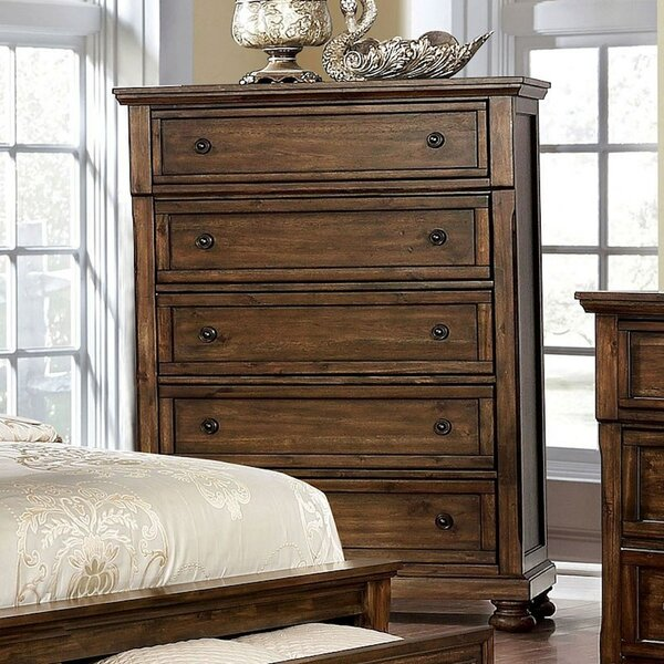 Leiston 5 Drawer Chest by Canora Grey