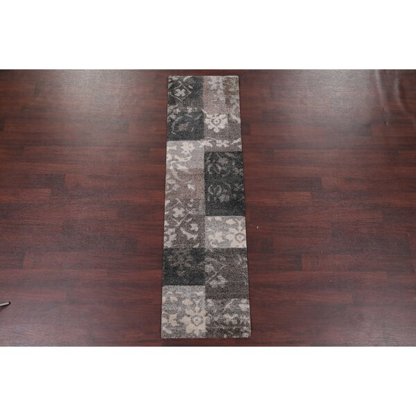 Bleckley Gray/Charcoal Area Rug by Winston Porter