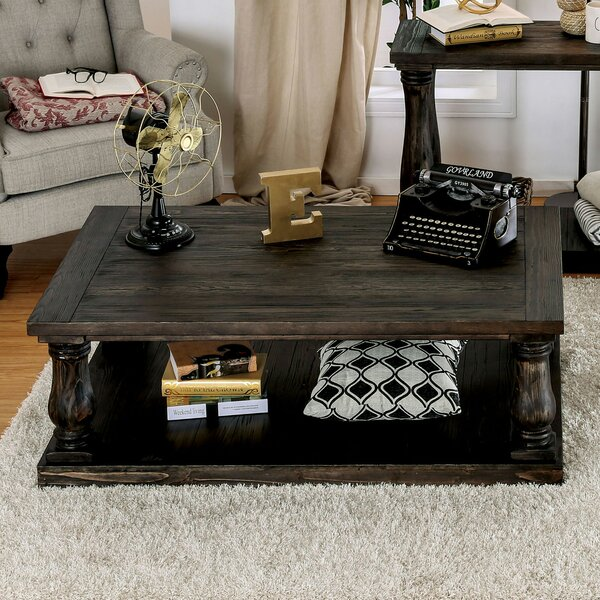 Hidalgo Coffee Table with Storage by Canora Grey Canora Grey