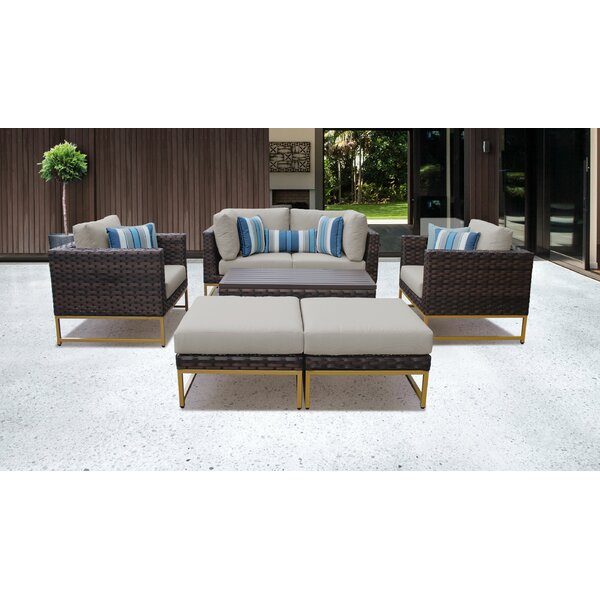 Mcclurg 8 Piece Sofa Seating Group with Cushions by Darby Home Co
