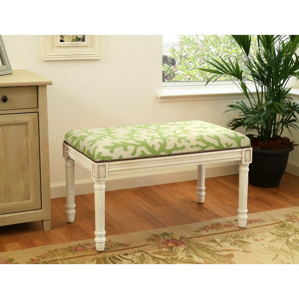 Coen Upholstered Bench by Rosecliff Heights