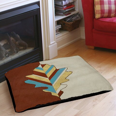 Apache Leaf 4 Pet Bed by Manual Woodworkers & Weavers