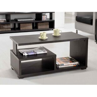 Rummel Coffee Table with Storage Ebern Designs