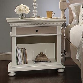 Soraya 3 Drawer Bachelors Nightstand by Bebe Furniture