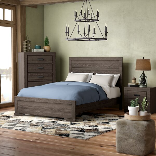 Willer Platform Configurable Bedroom Set by Union Rustic