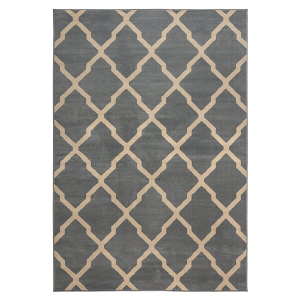 Rosella Area Rug in Gray by Zipcode Design