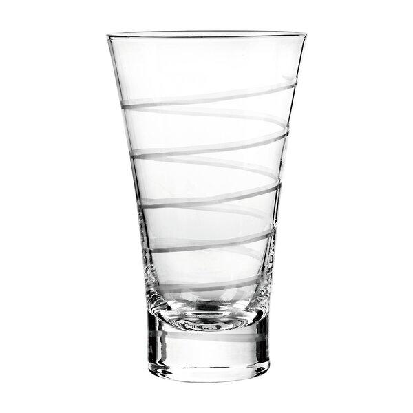 Vortex Highball Glass (Set of 4) by Qualia Glass