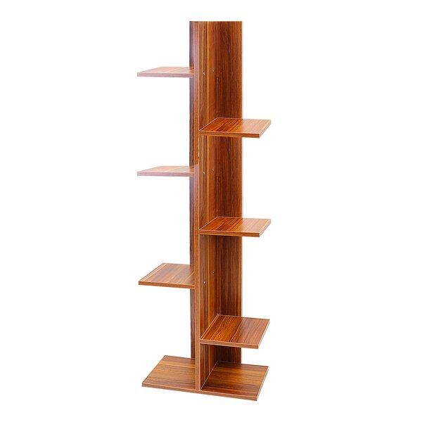 Kudney Geometric Bookcase By Ebern Designs