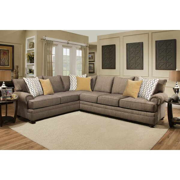 Landon Sectional by Fleur De Lis Living
