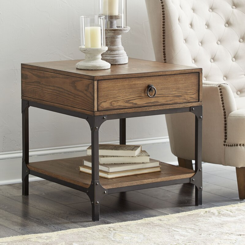 Birch Lane Tanner Side Table Amp Reviews Wayfair