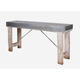 Huffman Zinc Top Console Table