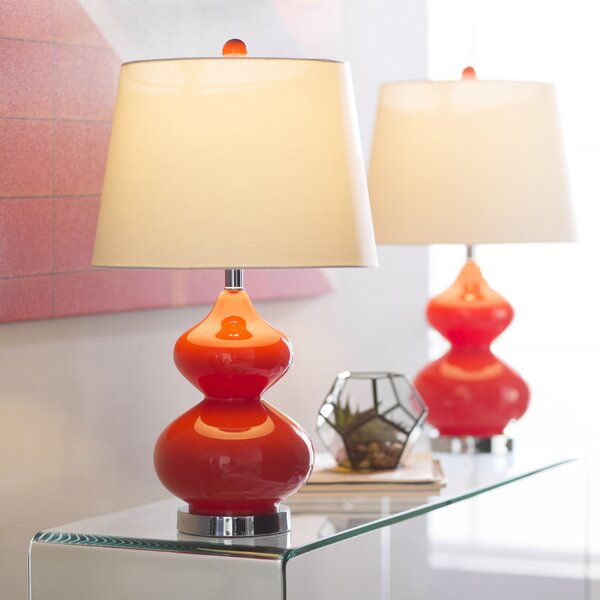 Courtney 24 Table Lamp (Set of 2) by Wade Logan