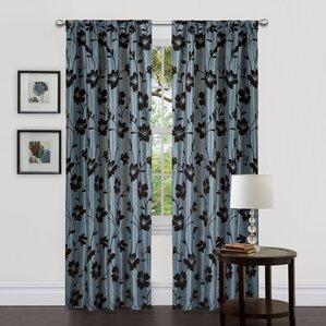 Garden Blossom Curtain Panels