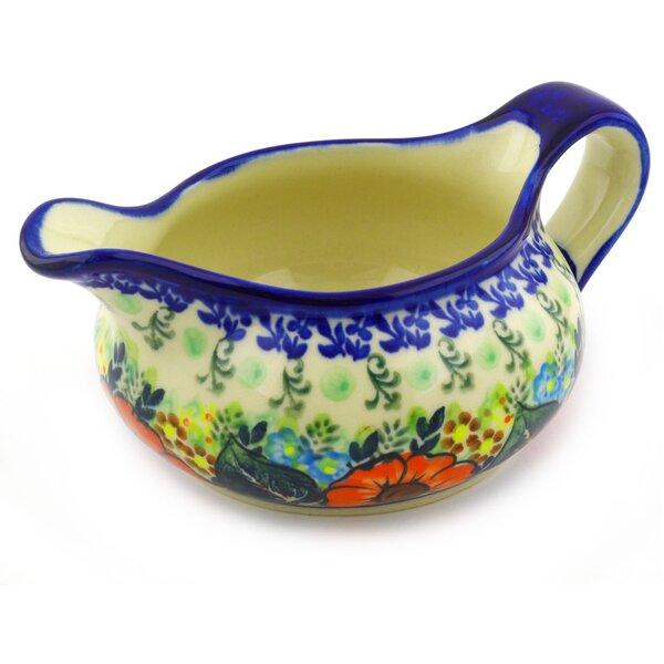 Polish Pottery 19 oz. Gravy Boat by Polmedia