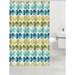 Elegant Touch Shower CurtainGeometric Shower Curtains You ll Love   Wayfair. Yellow And Teal Shower Curtain. Home Design Ideas