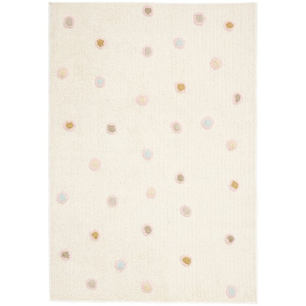 Carousel White Dots Area Rug by St. Croix