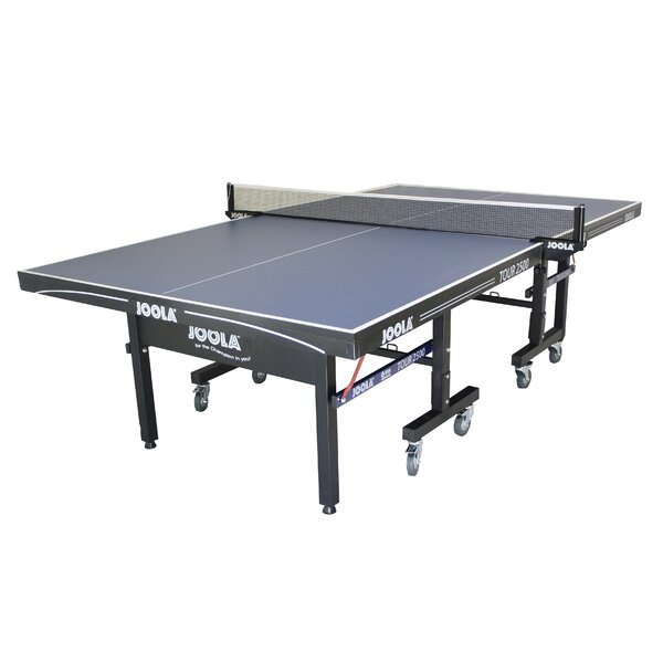 Tour 2500 Folding Indoor Table Tennis Table by Joo