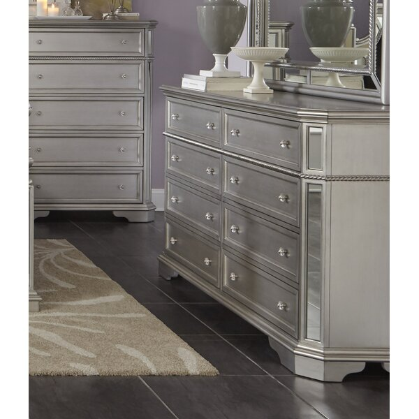 Verne 8 Drawer Double Dresser by House of Hampton