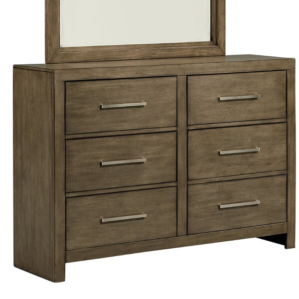 Lipscomb 6 Drawer Double Dresser by Gracie Oaks