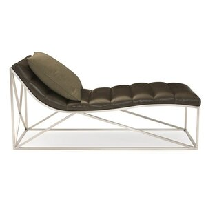 leather chaise lounge chair modern chaise lounges allmodern