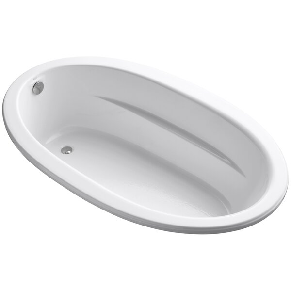 Sunward Drop-In Bath with Bask™ Heated Surface by Kohler